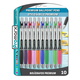 Premium Ballpoint Grippy Ultra Assorted Color 1.0mm Pens (10 Pack)