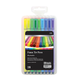 Washable Fiber Tip Pens: 18 Colors