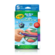 Crayola Air Dry Clay Bright Colors - Variety Pack (5 count)