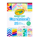 Crayola Bright Pop Cardstock 25 Sheets