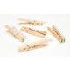 Large Spring Clothespins - Natural 3.25