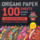 Origami Paper 100 Sheets Kaleidoscope (6