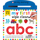 My First Wipe Clean: ABC Board Book