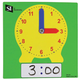Dry Erase Clock - Student (set of 10)