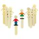 Wooden Sticks - People (set of 10)