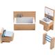 Dollhouse Furniture Bathroom (Little Friends)