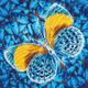 Flutter by Gold Diamond Dotz Kit (Intermediate)