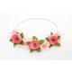 Petal Pink Flower Headband