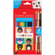 World Colors Eco Pencils - set of 15