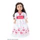 English Nanny Doll Dress