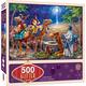 Three Magi Glitter Puzzle (500 pieces)