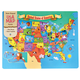 United States of America Map Wood Puzzle