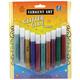 Washable Classic Glitter Glue Tubes - 10 count (10ml)