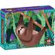 Three-Toed Sloth Mini Puzzle (48 pieces)