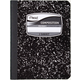 Mead Black Marble 3 Subject Composition Book (120 count, wide ruled)