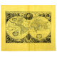 Map of the World 1641 Historical Document