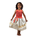 Polynesian Princess Dress with Hair Clip - Ages 9-11