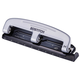 Bostitch-PaperPro 12 Sheet Compact 3-Hole Punch - Silver/Black