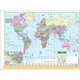 Notebook Map U.S./World Laminated