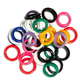 Spiral Round Plastic Fasteners 30 Small (7/16