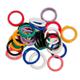 Spiral Round Plastic Fasteners 30 Large (7/8