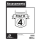 Math 4 Assessments 4th Edition