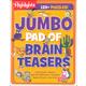 Jumbo Pad of Brain Teasers (Highlights Puzzles)