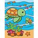Painting By Numbers - Sea Turtles