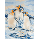 Painting By Numbers - Penguin Family (Jr Small)