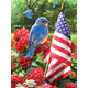 Painting By Numbers - Patriotic Bluebird (Jr Small)