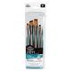 Zen Stroke Variety Paint Brush Set (5 piece)