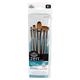 Zen Oval Wash Variety Paint Brush Set (5 piece)