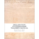 Declaration Statesmanship Teacher's Manual