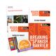Breaking the Spanish Barrier Level 2 (Intermediate) Homeschool Package + Digital Audio & Enhancements Online Access Code