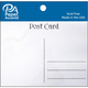 Paper Accents Post Cards - 4 1/4 x5 1/2 (white -25 pieces)