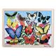Butterfly Garden Wooden Jigsaw Puzzle (48 pieces)