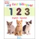 My First Bilingual 1 2 3 Board Book (English-Spanish)