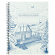 Snowy Chalet Decomposition College-Ruled Book (7.5