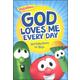 God Loves Me Every Day: 365 Daily Devos for Boys (VeggieTales)