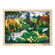 Frolicking Horses Wooden Jigsaw Puzzle (48 pieces)
