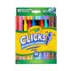 Crayola Clicks Retractable Markers - 10 count