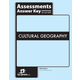 Cultural Geography Assessments Key 5th Edition