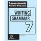 Writing & Grammar 7 Assessments Key 4th Edition