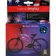 Cosmic Brightz Bike Wrap - Patriotic (Red/White/Blue)