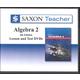 Saxon Teacher for Algebra 2 4th Edition DVDs