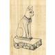 Bastet Cat (Paint Your Own Papyrus)
