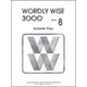Wordly Wise 3000 2ED 8 Answer Key