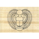 Winged Scarab (Paint Your Own Papyrus)
