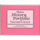 Modern History Portfolio Teacher's Guide