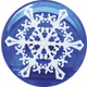 Magnet Clip - Snowflake